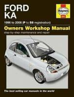 Haynes Manual Ford KA 1996-2008 1.3 Petrol Workshop Manual